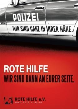 Rote Hilfe Plakat 'Polizei'