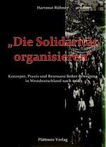 """""""Die Solidarität organisieren"""""""