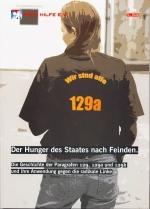 """Broschüre """"Der Hunger des Staates nach Feinden"""""""