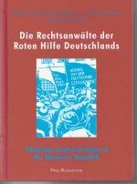 Die Rechtsanwälte der Roten Hilfe Deutschlands