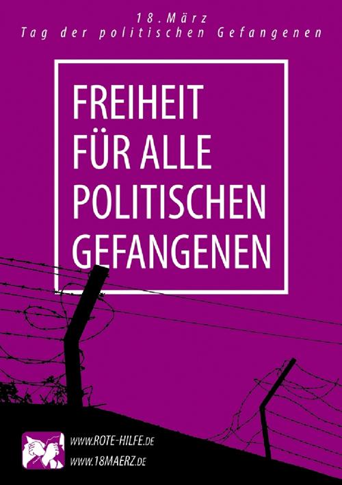 18. März 2013: Internationaler Tag der politischen Gefangenen