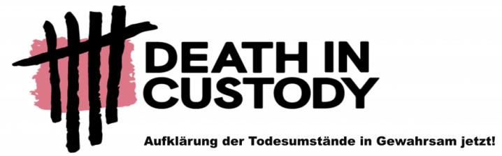 death in custody kampagne