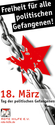 18. März - Tag der politischen Gefangenen