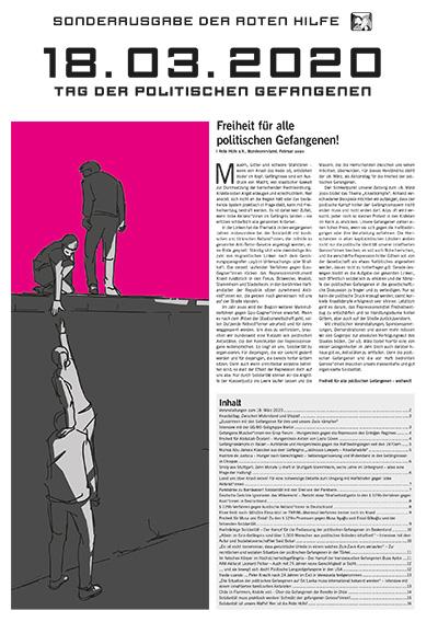 Rote Hilfe Sonderzeitung 18. März 2020